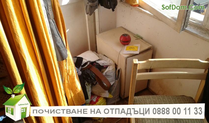 Цени за извозване на стари мебели и боклуци от Софийски домове